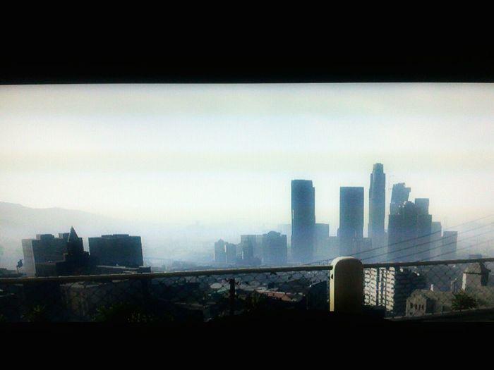 Streetphotography Streetphoto_bw GTA V Skyline