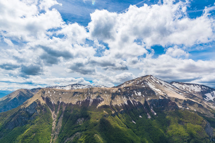 Abruzzo Abruzzo, Italia Hicking Mountain View Abruzzo Mountains Beauty In Nature Cloud - Sky Clouds Clouds And Sky Day Hicking Mountains Italy Landscape Mountain Mountains And Valleys Nature No People Outdoors Scenics Sky Valley