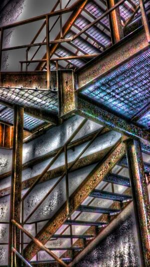 Iron Stairs Infrastructure Hdr_Collection Urban