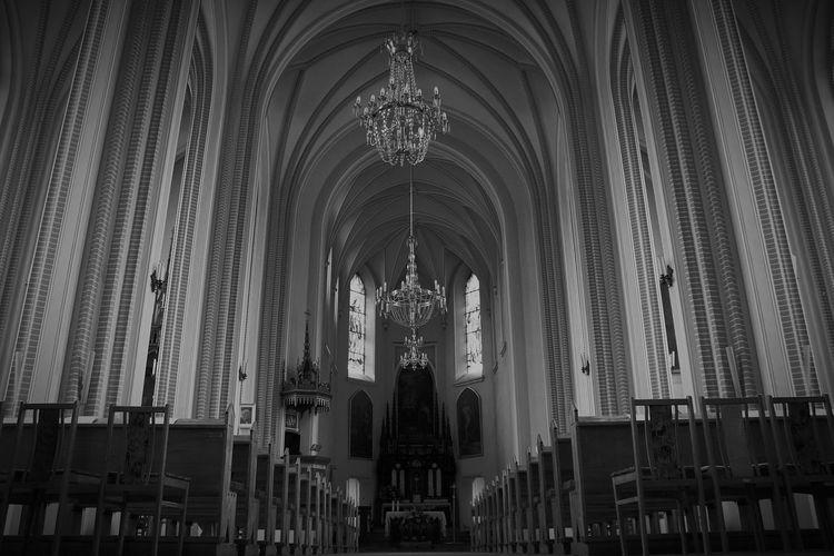 Interiors Of Church