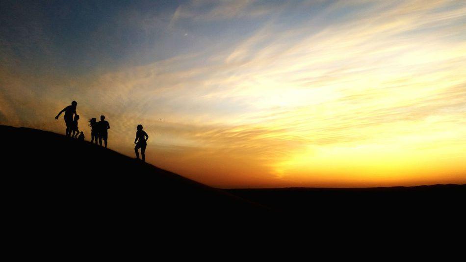 The KIOMI Collection Desert Beauty Sunset Silhouettes Sunset In The Desert Travel Destinations People Red Outdoors Light And Shadow Desert Safari Desertporn Desert Landscape Deserts Around The World Desert Life Desert Sky Safari Sand Dune