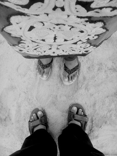 Just You And Me ♡♡ Blackandwhite Sand Love♥