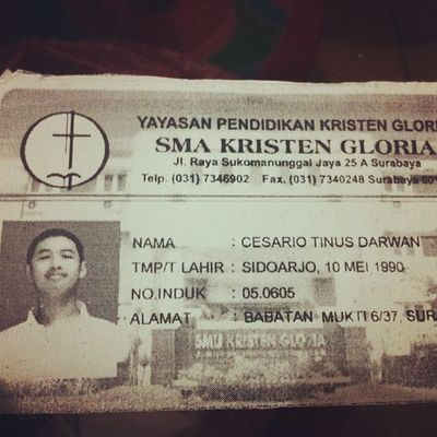 Wtf??? Who the hell is cesario tinus darwan???