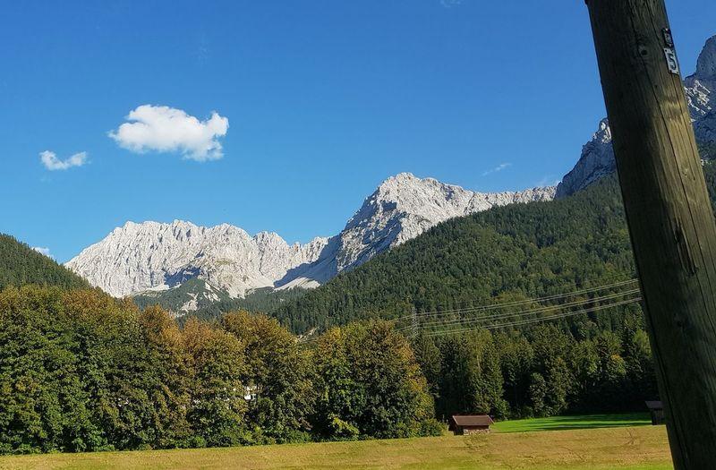Bayern Germany Mittenwald Deutschland Isar Karwendelgebirge Oberbayern Werdenfelser Land Karwendel Isartal Herbst Tree Mountain Flower Sky Landscape Mountain Range