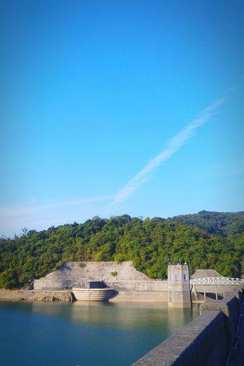 Miss this sky😭 2016 Hangout Taking Photos Photography Oldphotos Relax Enjoying Life Enjoying The Sun Enjoying The View Enjoy Blue Sky Sunny Day Reservoir Clouds And Sky HongKong Tsuen Wan Shing Mun Reservoir