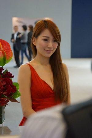 Taipei Car Show Show Girl