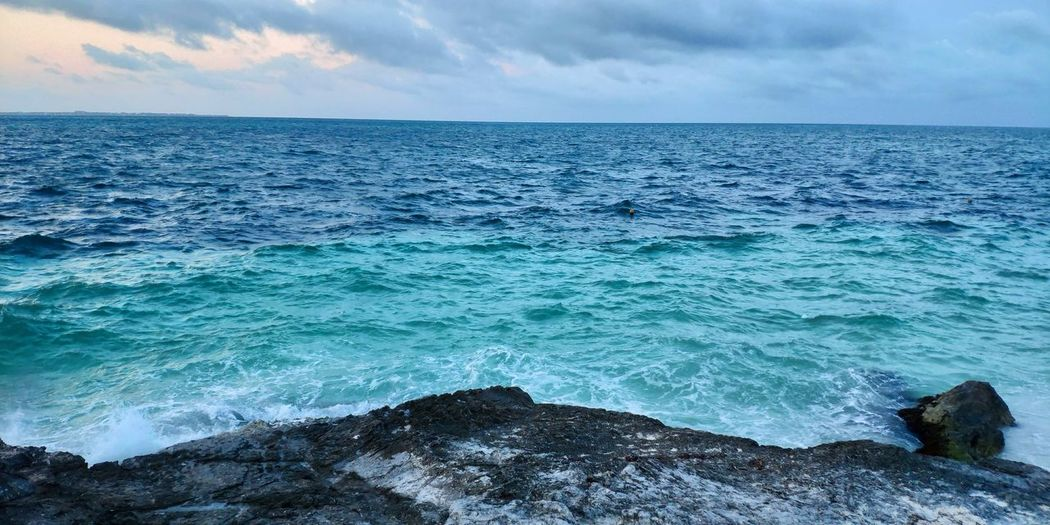 perfect colours Water Wave Sea Beach Sand Blue Sky Horizon Over Water Landscape Cloud - Sky Seascape Geology Coastline Coast Surf Low Tide Rushing Cliff Coastal Feature Rock Formation Rugged Physical Geography