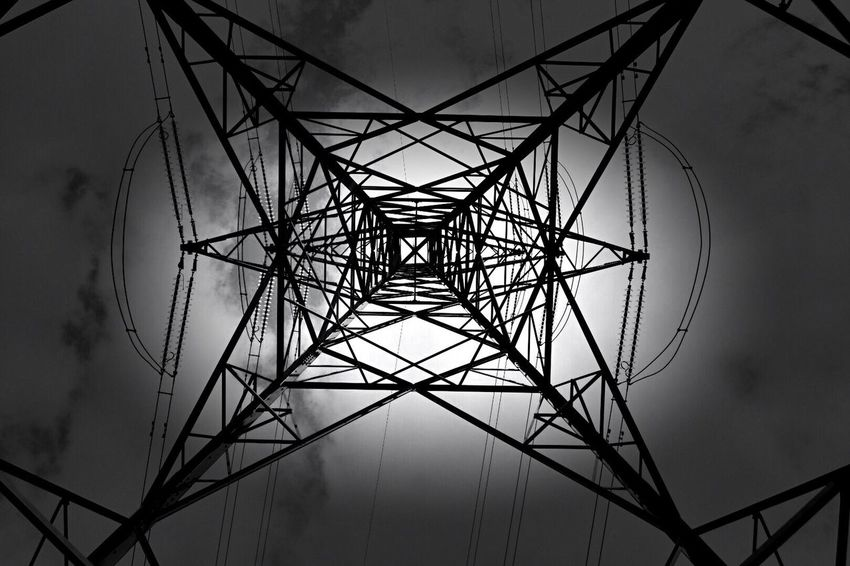 Pylon Blackandwhite Photography Blackandwhite Black And White Sky Nikon Nikonphotography Nikon D7200
