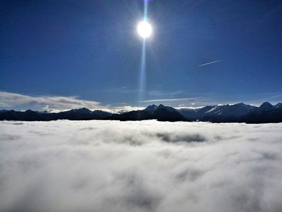 i love this moment 😍 über Den Wolken Nebel Fog Sonne Loveit Traumhaft Glücklich Wandern Bergsteigen Outdoors Nature Happy