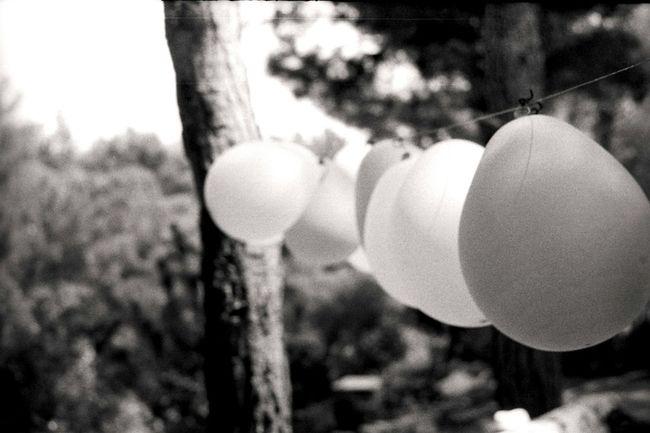 Baloons Baloon Black And White Analog Photography Analog Camera Film Filmisnotdead Zenit-ET Ilfordpan100 Helios 44-2