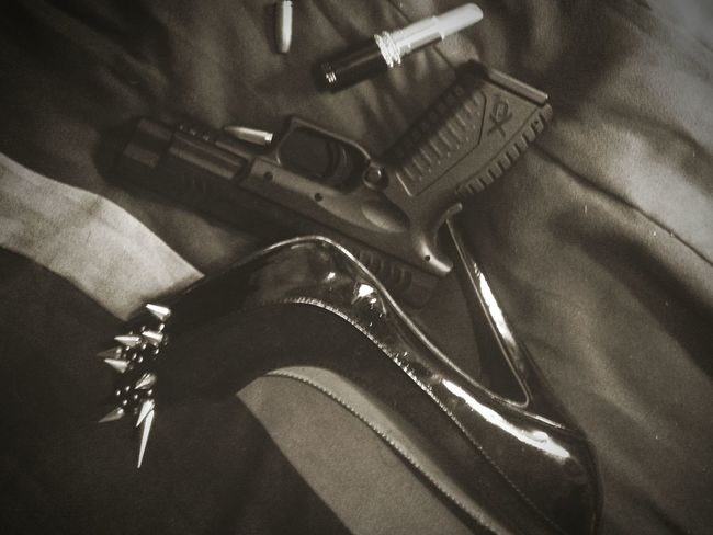 Guns Heels Black And White Simple Weapons Girls With Guns I Love Guns