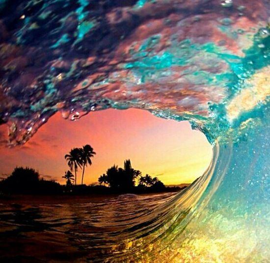 #repost #niceshot #paradise #wave #beach #silhouette