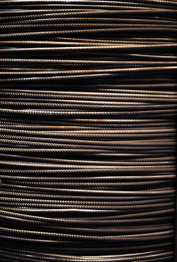 Steel wire rope background Roll Rope Steel Cable Twine Armoring Background Backgrounds Brown Close-up Coil Flexible Full Frame Industry Metal Metal Industry No People Rod Spiral Spool Stainless Steel  Steel Steel Rope Steel Wires Vertical Wires