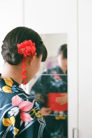 NikonFM2 35mm Film Film Photography Nikon Summer Filmcamera Japan Mirror Girl Candid Photography