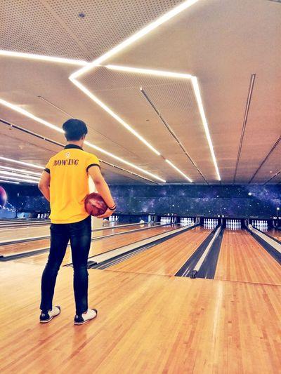 Look forward.. 🎳🎳🎳 Bowl Bowlingalley Bowling Lane First Eyeem Photo