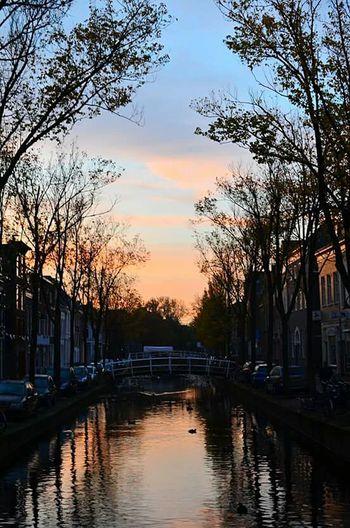 Spring Delft Urban Urbanphotography Streetphotography Sunset
