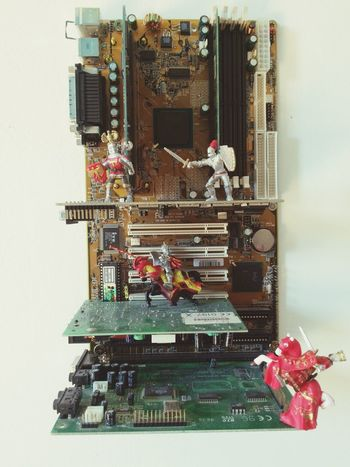 Computer Motherboard. Knight  Toys Fusion Fantasy What Children Do