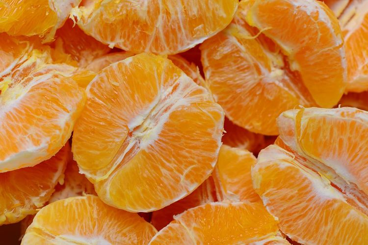 Food And Drink Freshness Food Healthy Eating Wellbeing Full Frame Orange Color Fruit Backgrounds Citrus Fruit Close-up Orange Juicy Orange - Fruit