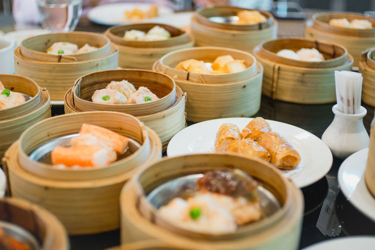 DimSum!!! Abundance Appetizer Arrangement Bowl Chinese Food Choice Close-up Crockery Dish Dumpling  Food Food And Drink Freshness Healthy Eating In A Row Indoors  Indulgence Japanese Food Large Group Of Objects Meal Order Plate Ready-to-eat Selective Focus Variation
