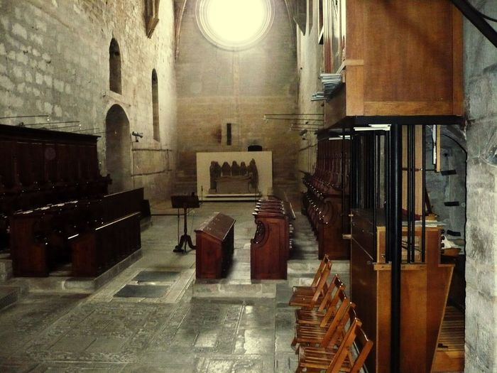 Indoors  Seat Religion