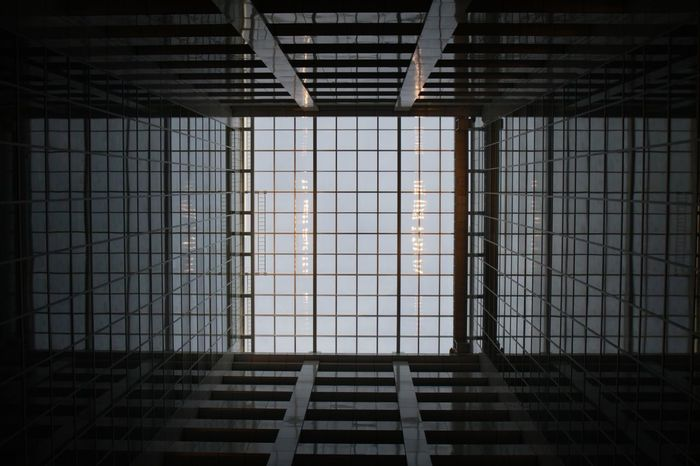 Glass Roof Architecture Patterns Taking Photos