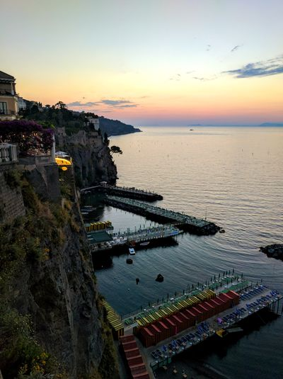 Sorrentocoast Sorrento Sorrento, Italia Sorrento By Night Sorrento Sunset Italian Landscapes Italian Sunset Italian Seaview Italian Sea Sunset And Sea Seascape Been There.