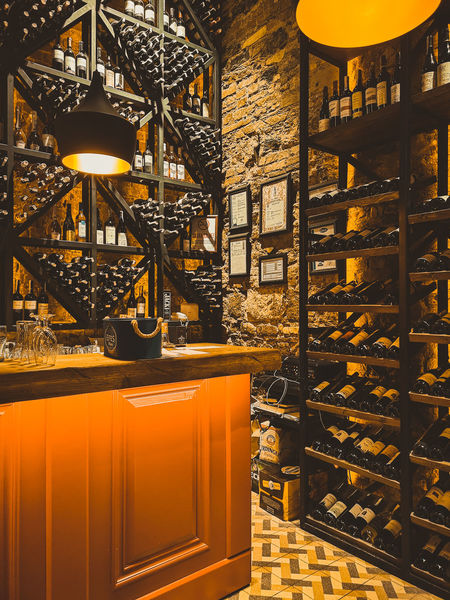 winehouse Decoration Bar Pub Wine Winehouse Business Finance And Industry Industry Architecture Close-up Wine Rack Winery Winetasting Liquor Store