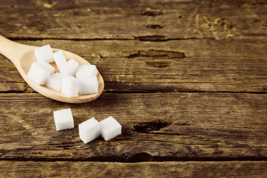 Chopped Close-up Cube Shape Food Food And Drink Freshness Healthy Eating High Angle View Indoors  Indulgence Ingredient No People Shape Spice Still Life Sugar Cube Sweet Food Table Wellbeing White Color Wood - Material