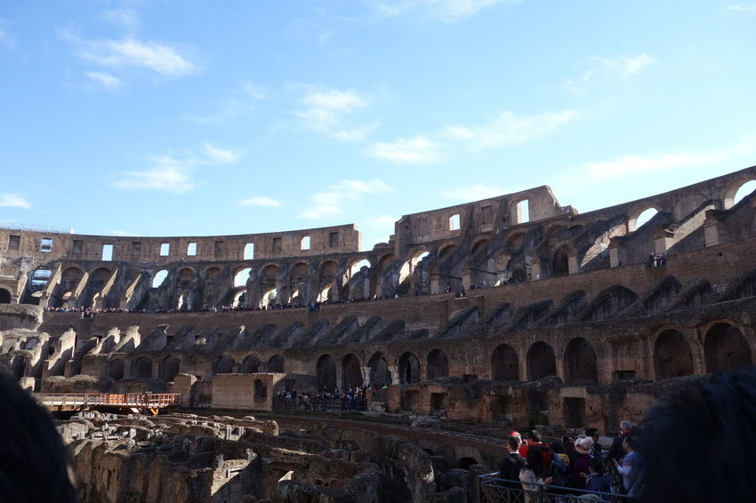 Colosseo Famous Place History Roma Travel Destinations