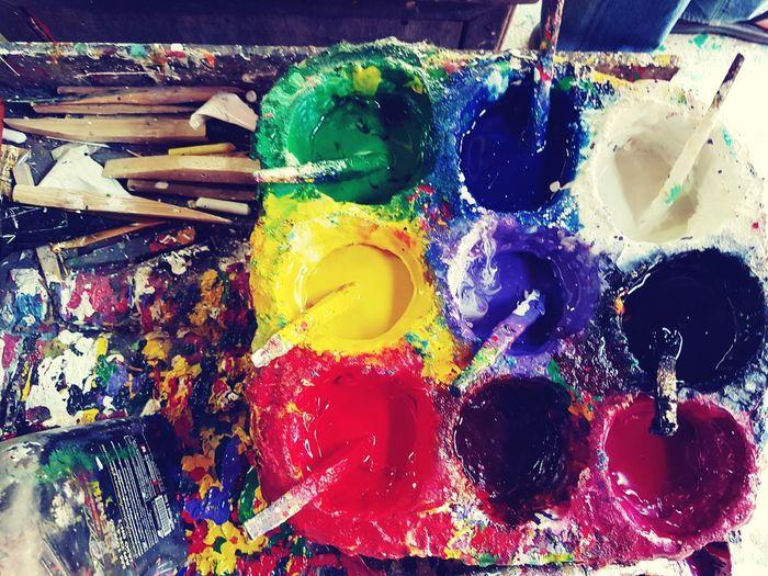 colour of life Colour Warrooms Art Colorful