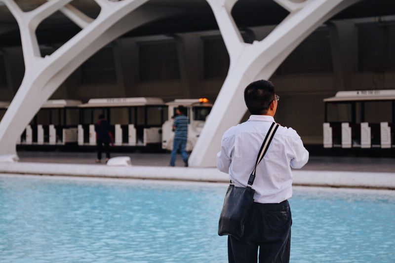 Tourists Person Streetphotography València The Changing City City Street Fashion Water Architecture Traveling