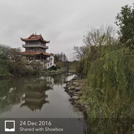 Temple, Haiyan City, Zhejiang, China