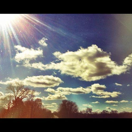 Skyporn Dbskyshots Cloudporn Sky sun clouds nature
