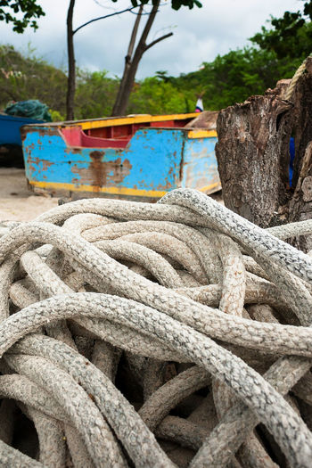 Ropes used for