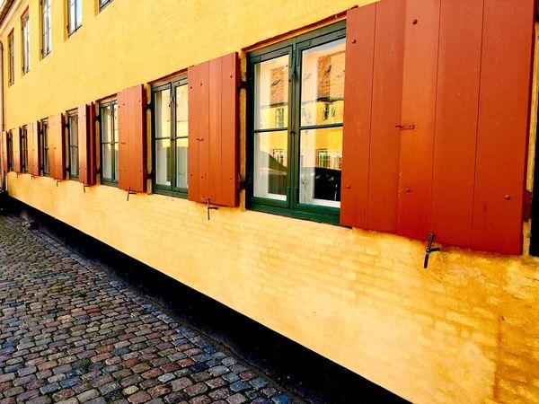 Cobblestone Building Windows Copenhagen, Denmark Copenhagen Denmark Capital Cities  Europe Cities Of Europe Travel Travel Photography Traveling