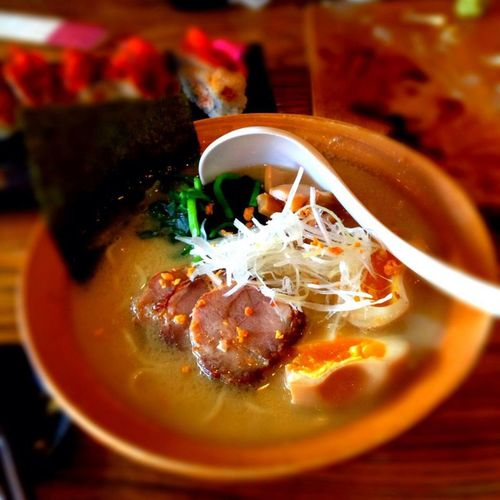 Tonkotsu Ramen Noodles Food Delicious Enjoying Life Japanese Food Taking Photos