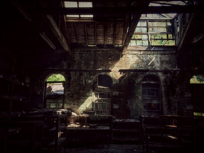 Traveling Light And Shadow Ruins Urbex Darkness And Light 廃墟 IPhoneography Japan Hello World