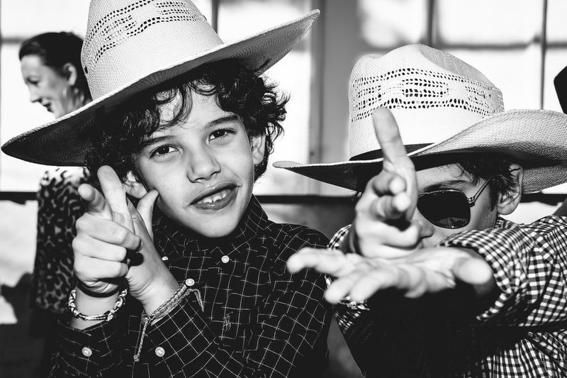 Cowboys Playing Boys Brazil Chapéu Cowboy Hat Cowboys Festa Junina Friendship Handgun Happiness Hat Hat Headshot June Party Kids Party The Photojournalist - 2017 EyeEm Awards The Portraitist - 2017 EyeEm Awards The Street Photographer - 2017 EyeEm Awards Place Of Heart