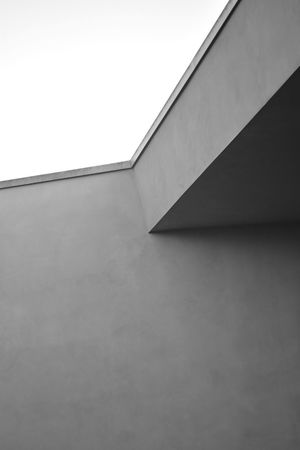 Architecture Blackandwhite Building Building Exterior Built Structure Low Angle View Minimalism No People Sky