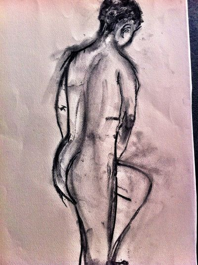 life class Sat Staines Beauty Is As Beauty Does AMPt_community Drawings The Purist (no Edit, No Filter)