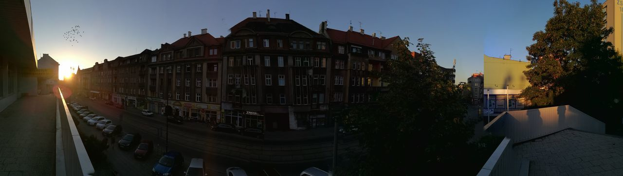 Panorama of main street :3 Natural Light No Filter, No Edit, Just Photography Sunshine Panorama Beautiful Smartphonephotography Amateurphotography Best Photography Architecture City Zabrze My Town Relaxing Natural Beauty Chilling