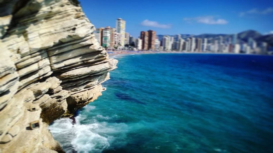 Sea Built Structure Cityscape Beach Outdoors Sky Water Day No People Nature Benidorm, Spain SPAIN Spain🇪🇸 Holidays Whiterock