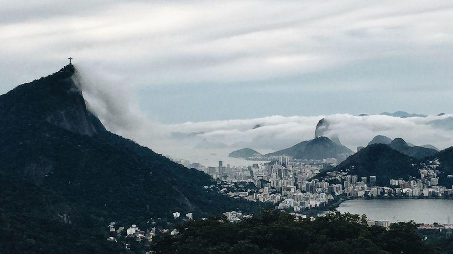 Rio De Janeiro Eyeem Fotos Collection⛵ Brazil Vista Chinesa Cristo Redentor Pão De Açucar Sugar Loaf Corcovado VSCO Vscocam Working