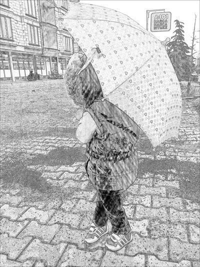 Rain Day Walk Hellooo Eyem !