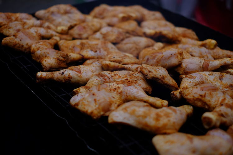 Barbecue Chicken Wing Close-up Day Food Food And Drink Freshness Healthy Eating Indoors  Jerk Chicken Meat No People Preparation  Ready-to-eat