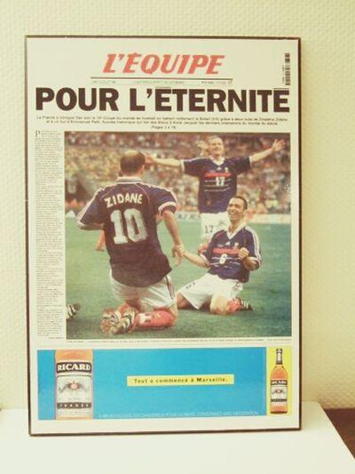 Fff Legendaire Coupe Du Monde France 98 #Zizou #lequipe.fr