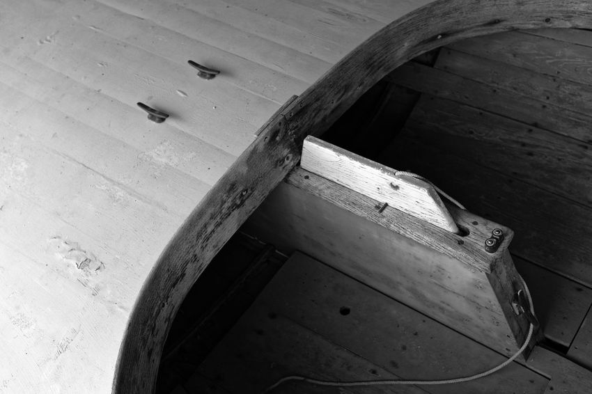 Water Craft Beach Boat Coastal Nautical Vessel Woodwork  Old Vintage