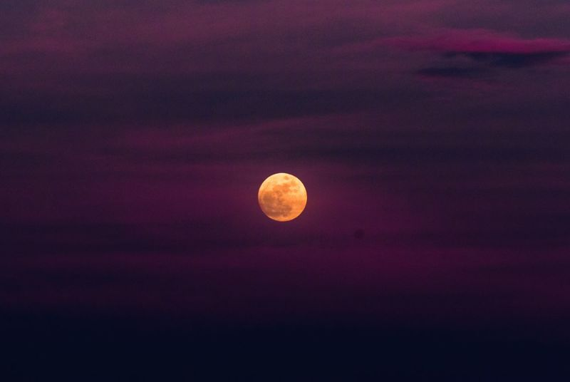 Wolf Moon Sky Moon Beauty In Nature Nature Tranquility Astronomy No People Night Sunset Scenics Outdoors Cloud - Sky Beauty In Nature Moon EyeEm Gallery Oklahoma Nature Oklahomaphotography EyeEm Masterclass Oklahoma Moonlight Oklahoma Weather Celestial Moments Fairytales & Dreams Tranquility