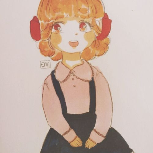Character Sweet Art Drawing