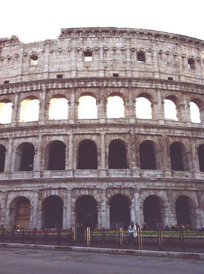 Colosseo Roma Caput Mundi Roma Rome Colosseo Colosseum City Cityscape